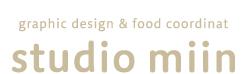 studio miin スタジオミィン | 可愛い本のデザイン とスタイリング(料理・雑貨)